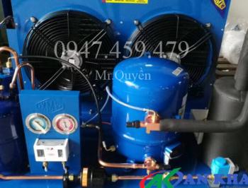 Chuyên phân phối – bán block máy làm lạnh nước chiller tại khu công nghiệp TPHCM