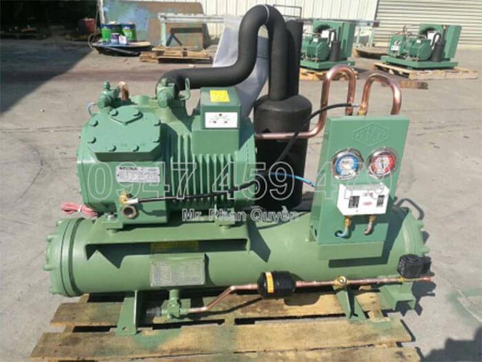 Cụm máy nén lạnh dàn ngưng Bitzer 8HP 4TES-8.2