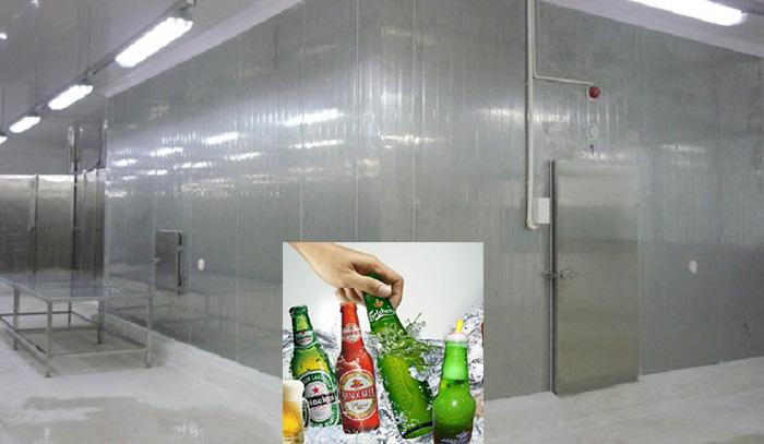Lắp đặt kho lạnh bảo quản bia