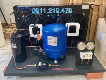 Nhận lắp đặt cụm máy nén Danfoss 10hp MT125